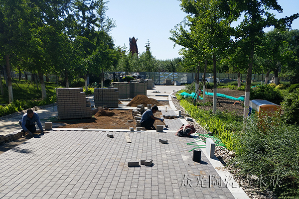 Exploring the role of ecological permeable bricks in the construction of ecological cities